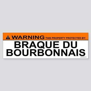 BRAQUE DU BOURBONNAIS Bumper Sticker