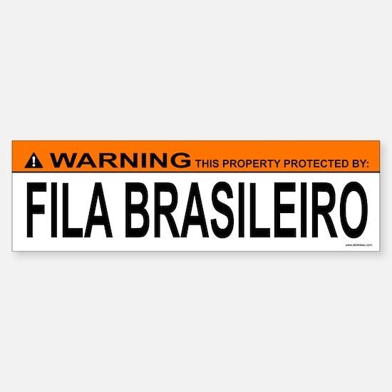 FILA BRASILEIRO Bumper Bumper Bumper Sticker