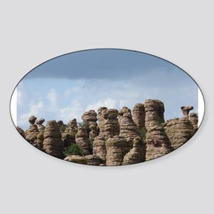 Chiricahua National Monument Oval Sticker