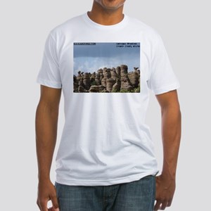 Chiricahua National Monument  Fitted T-Shirt
