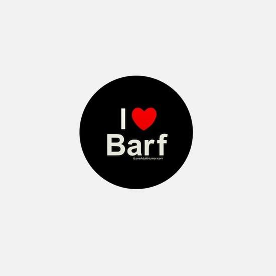 Barf Mini Button