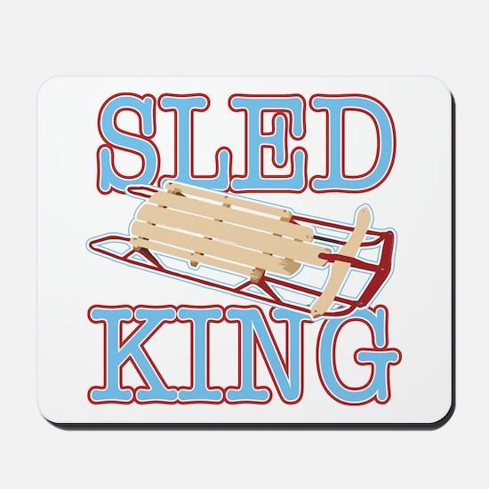 Sled King Mousepad