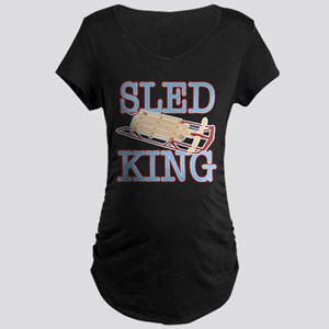 Sled King Maternity Dark T-Shirt
