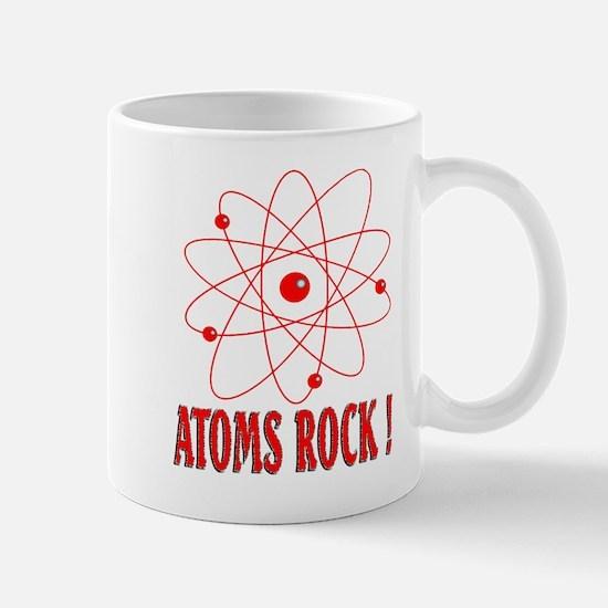 Atoms Rock ! (red) Mug