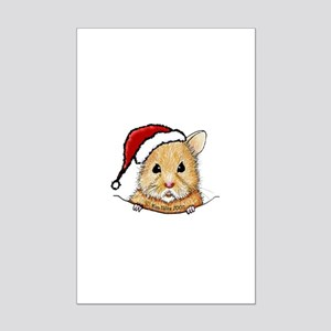 Pocket Goldendoodle Mini Poster Print