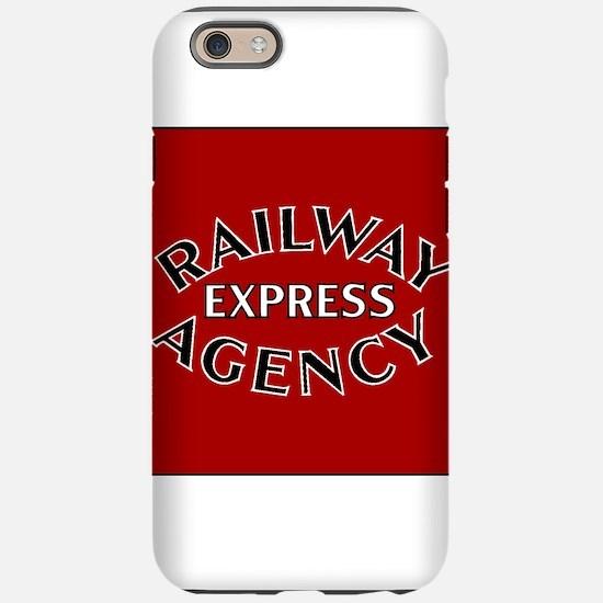 Railway Express Agency Badg iPhone 6/6s Tough Case