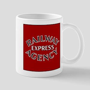 Railway Express Agency Badge Mugs