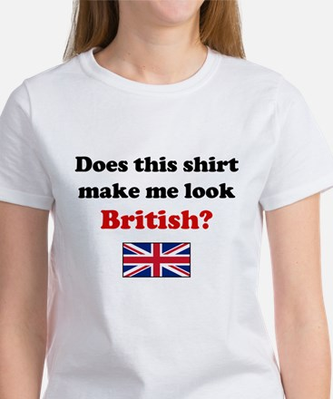 Make Me Look British Women's T-Shirt