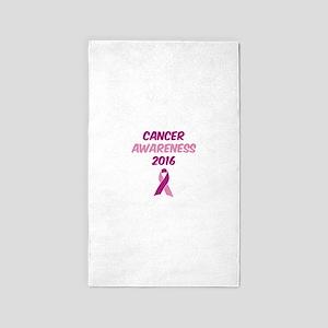Cancer Awareness 2916 Area Rug