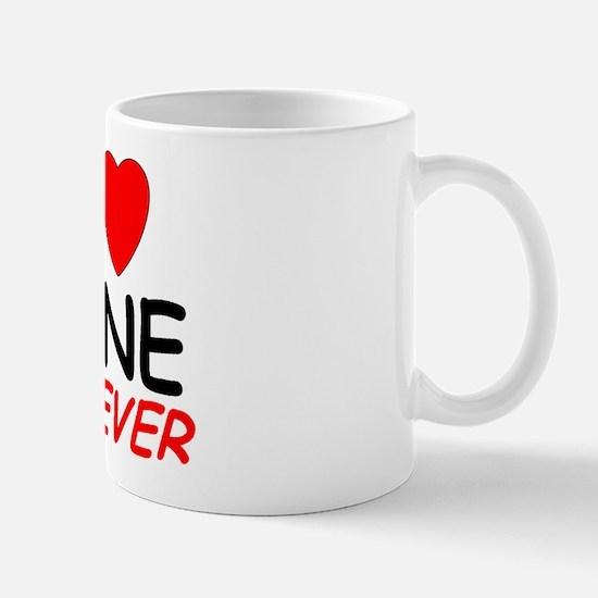 I Love Zane Forever - Mug