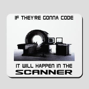 Scanner Mousepad