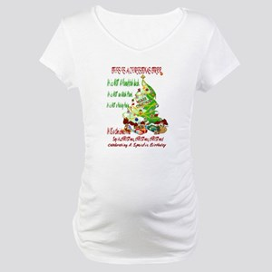 This Is A Christmas Tree Maternity T-Shirt