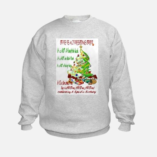 This Is A Christmas Tree Sweatshirt