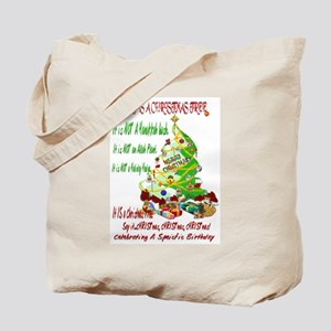 This Is A Christmas Tree Tote Bag