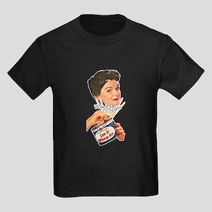 Can Of Whoop Ass Kids Dark T-Shirt