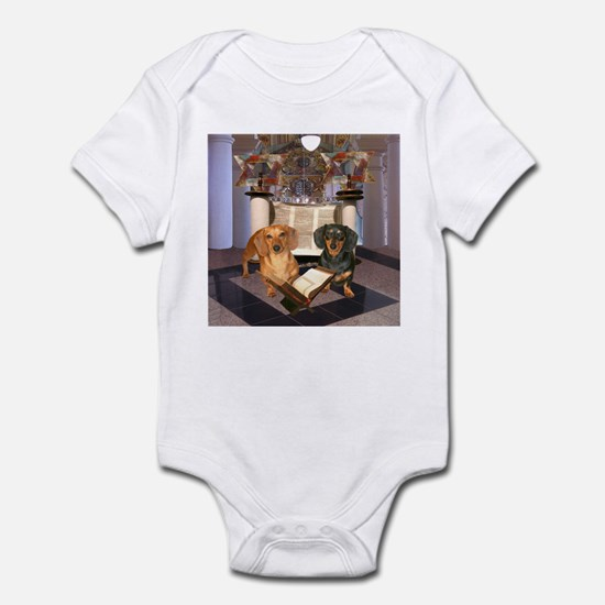 Jewish Dachshunds Infant Bodysuit