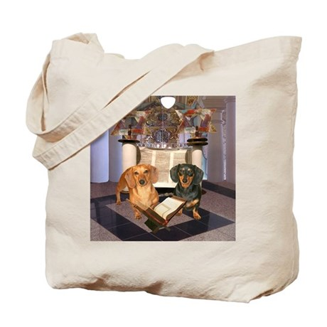 Jewish Dachshunds Tote Bag