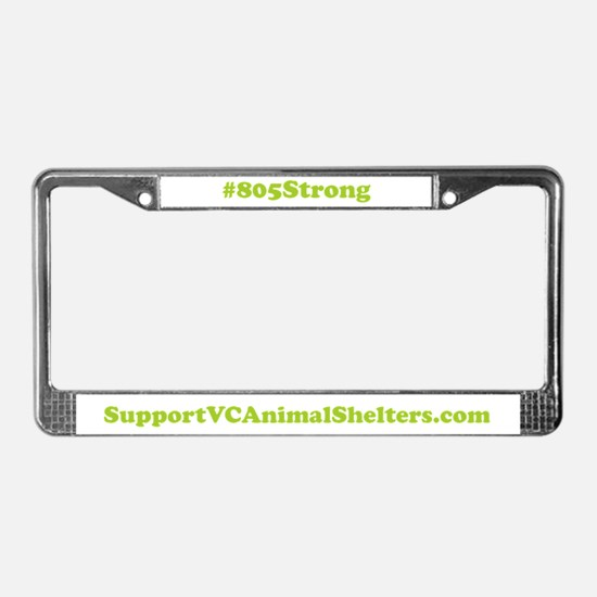 805 Strong License Plate Frame