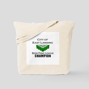 City of East Lansing Beer Pon Tote Bag