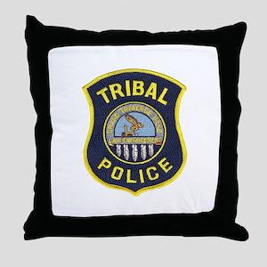 Grand Traverse Police Throw Pillow