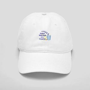 Detroit Beer Pong League Cham Cap