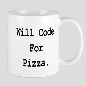 Will Code For Pizza Mug
