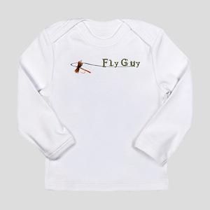 Fly Fishing Guy Long Sleeve T-Shirt