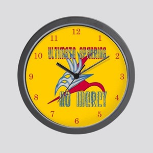 Ultimate Sparring No Mercy Wall Clock