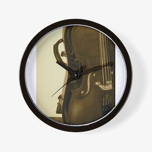 Cello Wall Clock