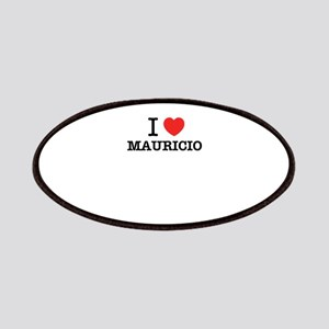 I Love MAURICIO Patch