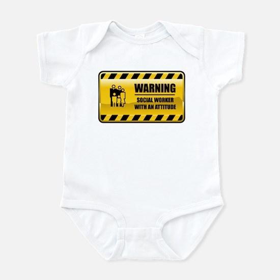 Warning Social Worker Infant Bodysuit