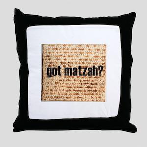 Got Matzah? Throw Pillow