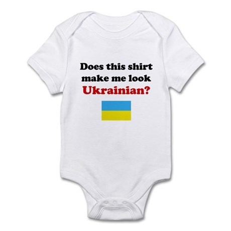 Make Me Look Ukrainian Infant Bodysuit