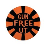 "Orange Gfut 3.5"" Button (100 Pack)"