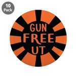 "Orange Gfut 3.5"" Button (10 Pack)"