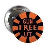 "Orange Gfut 2.25"" Button (100 Pack)"