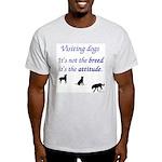 Visiting Dogs Light T-Shirt