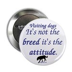 Visiting Dogs Button