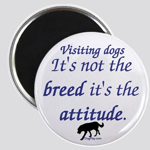 Visiting Dogs Magnet