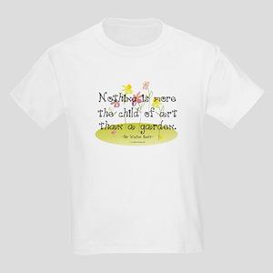 Gardening as Art Kids Light T-Shirt