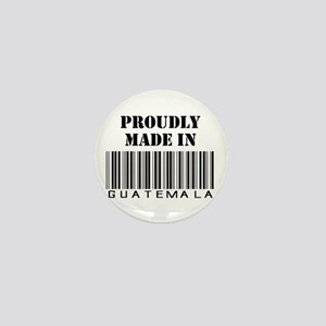Proudly made in Guatemala Mini Button