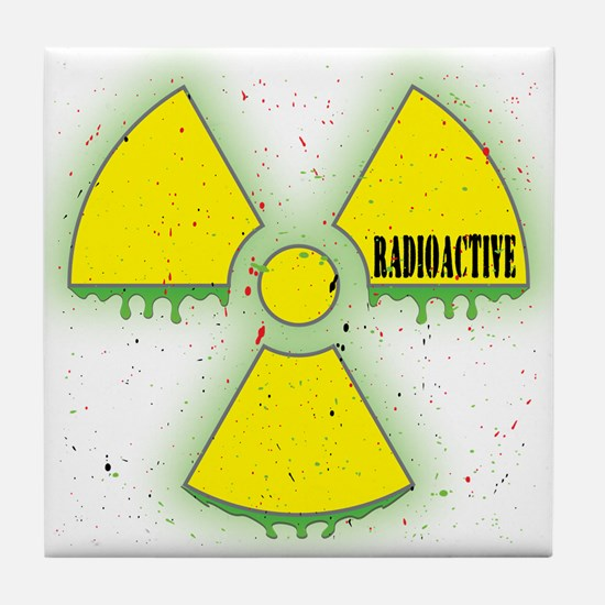 Radioactive Tile Coaster