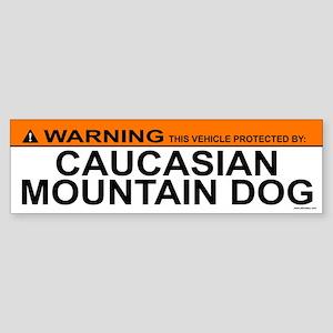 CAUCASIAN MOUNTAIN DOG Bumper Sticker