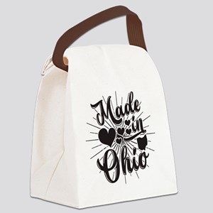 Made In Ohio Canvas Lunch Bag