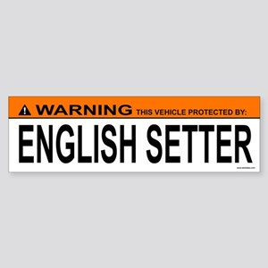 ENGLISH SETTER Bumper Sticker