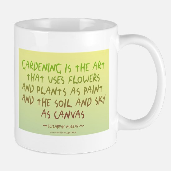 Flowers as Paint Mug