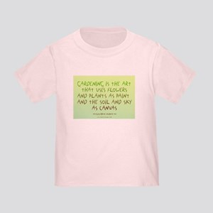 Flowers as Paint Toddler T-Shirt