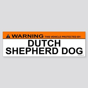DUTCH SHEPHERD DOG Bumper Sticker