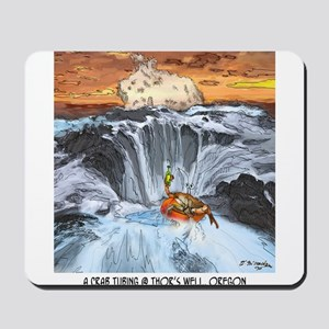 Tubing in Thor's Well Mousepad