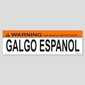 GALGO ESPANOL Bumper Sticker